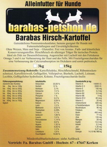Hirsch-Kartoffel