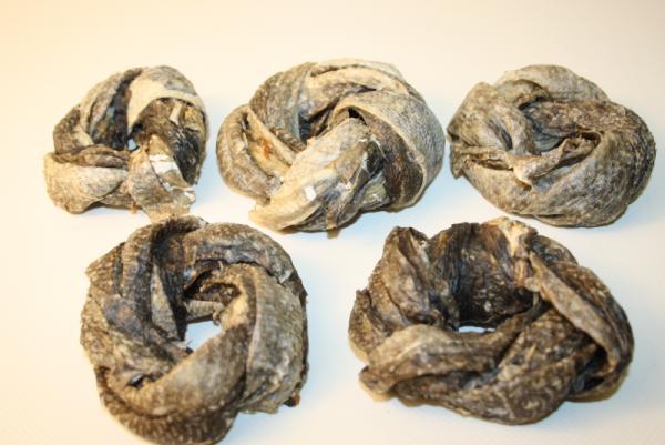Dorschhaut-Ringe 5 Stück